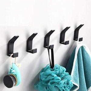 ¿quieres Comprar Colgadores Bano Negro Adhesivo Revisa Las Ofertas Aqui