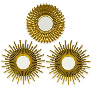 Espejos Decorativos De Pared Vintage Dorados Mira Las Opiniones Antes De Comprar