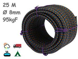 ¿buscas El Mejor Precio Para Cuerda Elastica 8mm 25m Echa Un Vistazo Aqui