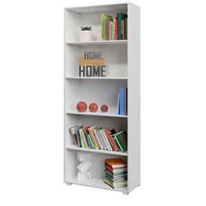 Aprovecha El Precio De Librerias De Madera Blanca Al Comprar En Internet