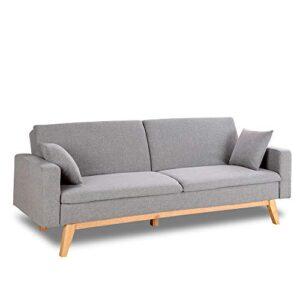Compra Sofas 3 Plazas Gris Y Paga De Forma Segura 100