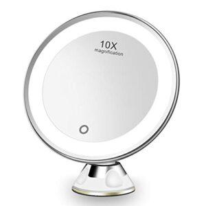 ¿buscas El Mejor Precio Para Espejo De Aumento Con Ventosa Y Luz Lo Tenemos Aqui
