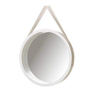 Espejos Decorativos De Pared Redondos Blanco Lee Opiniones Antes De Comprar