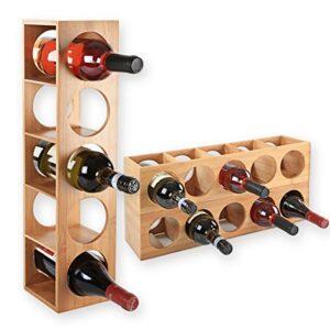 Aprovecha El Precio De Botelleros Vino Apilable Estrecho Al Comprar Online