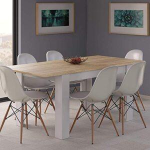 ¿quieres Comprar Mesa Salon Comedor Extensible Con Sillas Echa Un Vistazo A Nuestras Ofertas