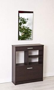 Muebles Auxiliares Recibidor Con Espejo Beneficiate De La Oferta Aqui