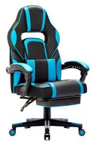 Mejor Precio En Sillas Gaming Reposapies Azul. Compra 100 Segura. Envios Gratis