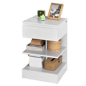 Aprovecha El Descuento De Muebles Auxiliares De Salon Blanco Al Comprar En Internet