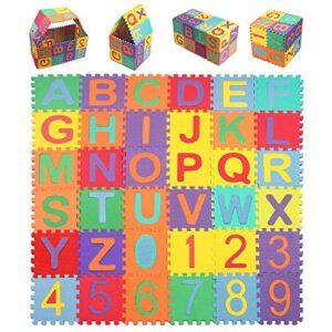 Alfombras Infantiles Puzzle Letras Y Numeros Aprovecha La Oferta Aqui