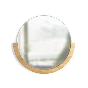 Espejos Decorativos De Pared Redondos Madera Los Mejores Para Comprar Online Con Facilidad