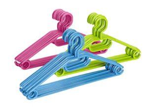 Mejor Precio En Perchas Ropa Plastico Colores. Pago Seguro 100. Envios Gratis