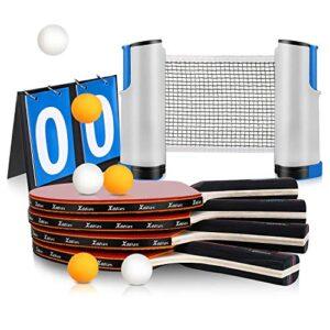 Compra Ping Pong Set Con Red Portatil Y Paga De Forma Segura 100