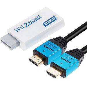 ¿buscas El Mejor Precio Para Nintendo Wii Hdmi Cable Revisa Estos