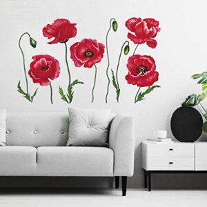 ¿quieres Comprar Adhesivos Pared Decorativos Flores Mira Nuestras Ofertas